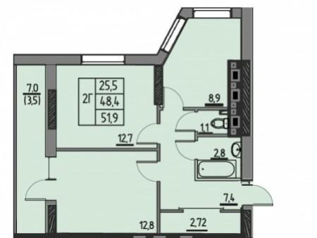 Жилой комплекс ЖК Крит, фото номер 11
